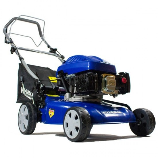 Hyundai Petrol Powered Self-Propelled Rotary 43cm Lawnmower | HYM43SP-2