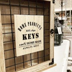 Metal Grid Key Cabinet | 426781