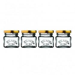 KILNER Set of 4 Mini Jars | 414802