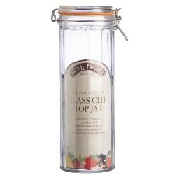 KILNER Facetted Glass Clip Top Jar 2.2L | 414834