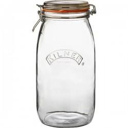 KILNER Round Clip Top Jar 3L | 414849