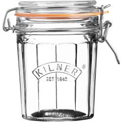 KILNER Facetted Glass Clip Top Jar .95L | 415314