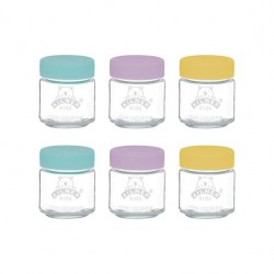 KILNER Set of 6 Kids Jars 110ml | 415316