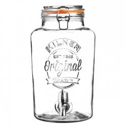 KILNER Clip Top Round Drinks Dispenser 8L | 415318
