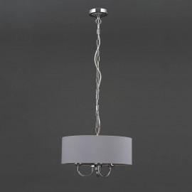 Westbury 3 Light Chandelier CHROME/GREY | 425174