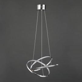 Triple Ring LED Chandelier CHROME   425177