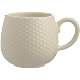 MASON CASH Embossed Honeycomb Mug CREAM | 414861