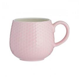MASON CASH Embossed Honeycomb Mug PINK | 414862