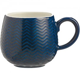 MASON CASH Chevron Mug NAVY | 135976
