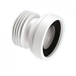 MCALPINE Straight Rigid WC Connector   WC-CON1
