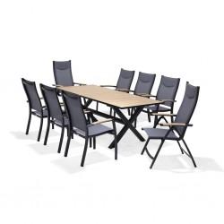 PANAMA 200cm Outdoor Dining Set | 426921