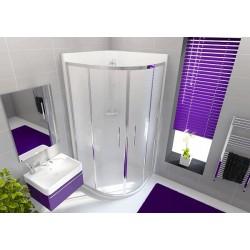 NEPTUNE Quadrant Corner Shower Enclosure 800mm WHITE   80186