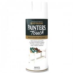 RUSTOLEUM Painter's Touch Spray Paint 400ml SATIN WHITE | 252545