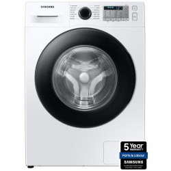 SAMSUNG 8KG 1400RPM Ecobubble Washing Machine WHITE | WW80TA046AH