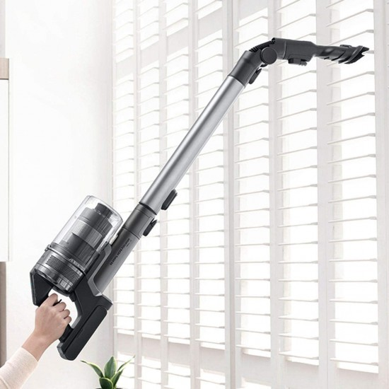 SAMSUNG Jet 90 Pro Cordless Vacuum Cleaner with Spinning Sweeper BLACK | VS20R9049S3