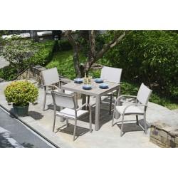 MORELLA 4 Seat Square Dining Set | 426908