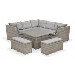 ARUBA Corner Dining Bench Set | 426916