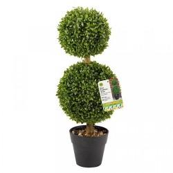 SMART GARDEN Duo Artificial Topiary Tree 60cm | 420106