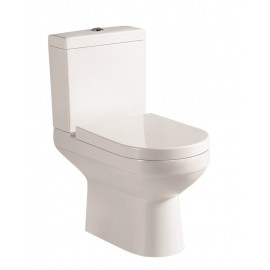 CHLOE Close Coupled Toilet and Soft Close Seat   78718