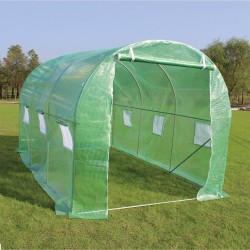 SPROUTING Classic Polytunnel Greenhouse with Steel Frame Tube   403794