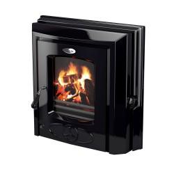 STANLEY CARA 6.5KW Non Boiler Inset Stove BLACK ENAMEL | 375758