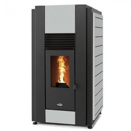 STANLEY Solis 23kW K2300 Boiler Pellet Stove GREY PANELS | K2300SPGY