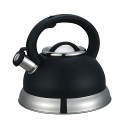 STEELEX Whisting Kettle 2.7L BLACK | 376439