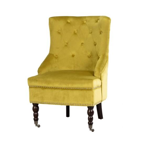 TARA Torino Accent Chair MUSTARD | TH5219DS