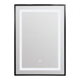 TEMA Palermo LED Mirror 70X50 BLACK | IP44