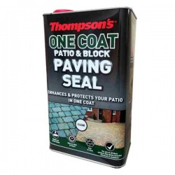 Thompson's One Coat Patio & Block Paving Seal 5L | 72954