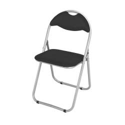 Metal Folding Chair BLACK   425056