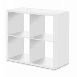 MAX 4 Cube Storage Unit Sonoma WHITE   431277