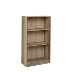 PEGGY 3 Shelf Bookcase Sonoma OAK   431279