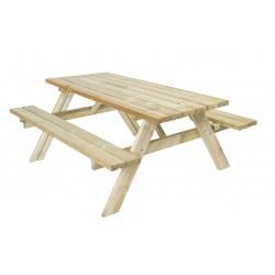 Garden Living Rectangular Picnic Table | 10021000