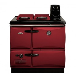 Stanley Donard 60 Solid Fuel Cooker Claret Enamel | DO2SFHBDC