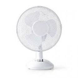 Nedis 261130 Table Fan 9 Inch White