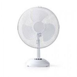 Nedis Table Fan 12 Inch Diameter | White