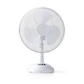 Nedis 261161 Table Fan 16 Inch Diameter   White