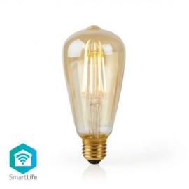 Nedis Wi-Fi Smart LED Filament Bulb E27 ST64 5W 500 lm   306190