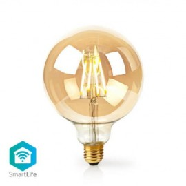 Nedis Wi-Fi Smart LED Filament Bulb E27 125mm 5W 500 lm   306206