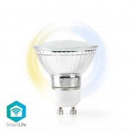 Nedis Wi-Fi Smart LED Bulb Warm to Cool White  GU10   WIFILW10CRGU10