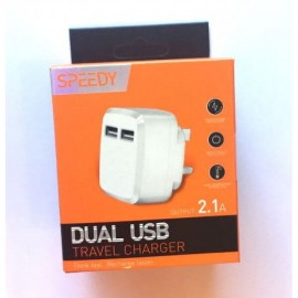 Speedy Dual USB Wall Charger 2.1A - 4463