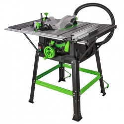 Evolution FURY5-S - 255mm Table Saw With TCT Multi-Material Cutting Blade 230v   54296