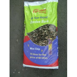 Garden Living Bark Mulch Mini Chip 75 Litre