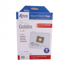 4 Your Home Goblin Morphy Richards Vacuum Cleaner Bags | MFB329