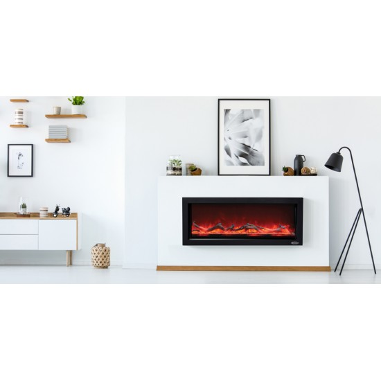 Stanley Argon Built in 100cm Fire Black | ARBI100