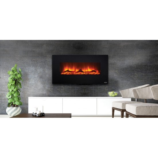 Stanley Argon Wall Hung 110cm Fire - ARWH110