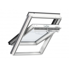 Velux Centre-Pivot White Painted Roof Window 550X780 GGL CK02 2070
