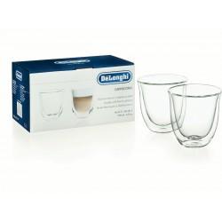 De'longhi 2 Cappuccino Glasses | 5513214601